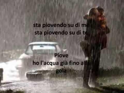 , title : 'PIOVE Riccardo Cocciante + testo sincronizzato!'