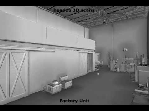 3D Scan of Factory Unit - headus