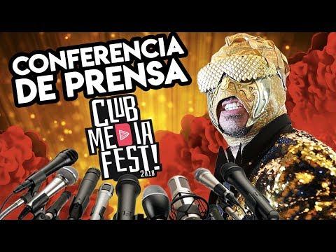 Dando clases en Conferencia y Entrevistas del Club Media Fest (видео)
