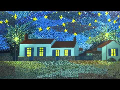 exposition de peintures; Nuits étoilées
