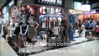 Platinum Fashion Mall, Petchburi Road, Bangkok