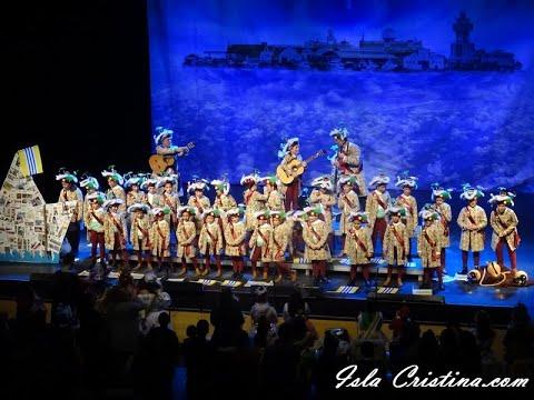 Comparsa infantil»La Capitana»(Isla Cristina) Preliminares