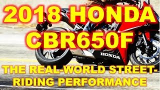 10. 2018 Honda CBR650F, Channeling the Original CBR600F for More than 30 Years!
