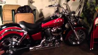 8. Honda Shadow ACE 750 Baffle Removal
