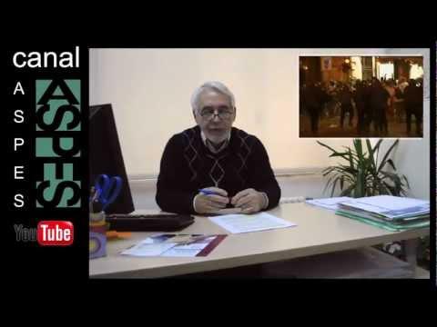 Las reivindicaciones de ASPES, vienen de atrás, como puede verse en este vídeo de 2013
