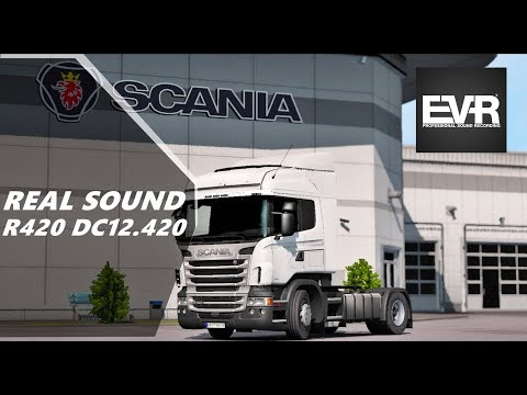 Real Sound Scania R420 DC12 420 EEV E5 Engine voice records