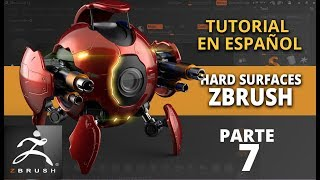 Hard surfaces en Zbrush ::: parte 7