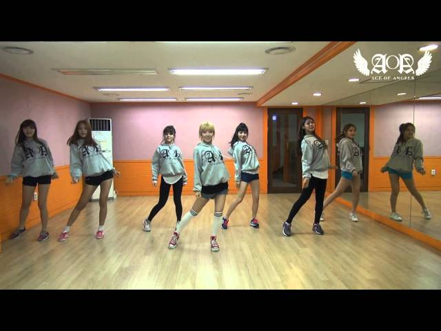 AOA - GET OUT  (Dance ver. / Practice Video)