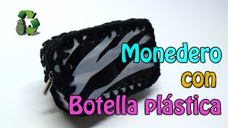 74. RECICLAJE DE BOTELLAS PLÁSTICAS (MONEDERO) DIY PURSE