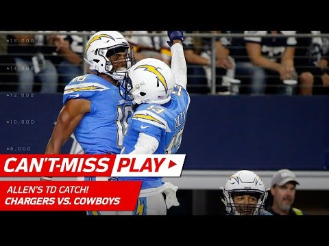 Video: Philip Rivers Tosses TD to Keenan Allen to Finish Off 92-Yd Drive! | Can't-Miss Play | NFL Wk 12