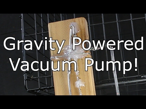 Hot on YouTube Sprengel Vacuum Pump