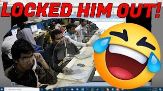 Video RAGING SCAMMER LOCKED OUT OF HIS OWN PC! MP3, 3GP, MP4, WEBM, AVI, FLV Juni 2019