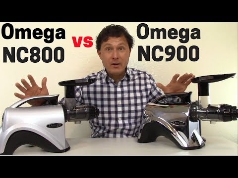 Omega NC800 vs Omega NC900 What's the Difference? + Juicing Tips