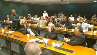 Fala de Gil Vicente durante reunião da Frente Parlamentar Mista em Defesa da Previdência Social