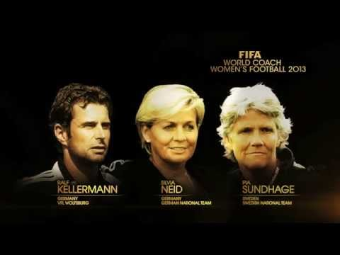 FIFA Women's World Coach 2013 finalists