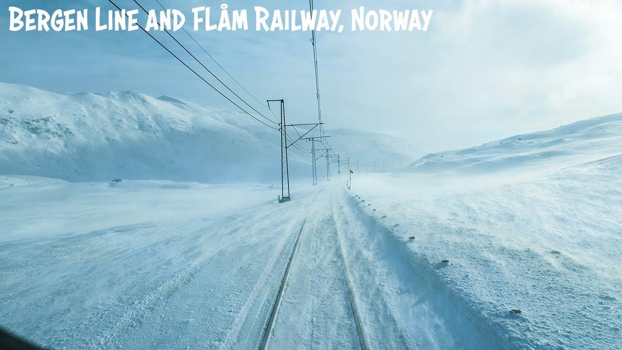 【ベルゲン鉄道/フロム鉄道】ノルウェーの人気路線を走る鉄道の運転席からお届けWinter Cab View