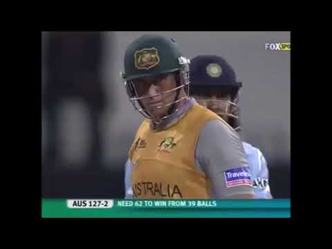 2nd Inning India vs Australia T20 Semi final 2007