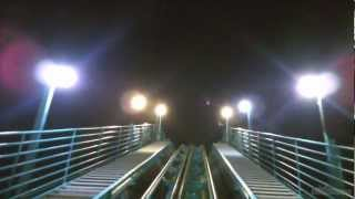 Kraken @ Seaworld Orlando FRONT ROW POV Night Ride [HD]