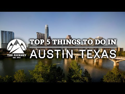 Top 5 Things To Do in Austin Texas