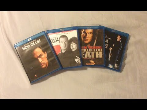 Steven Seagal Movies (1988-1991) Blu Ray Discussion Review And Unboxing