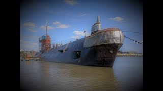 Video Soviet Submarine on the River Medway. Inside was a Suprise! MP3, 3GP, MP4, WEBM, AVI, FLV Agustus 2018