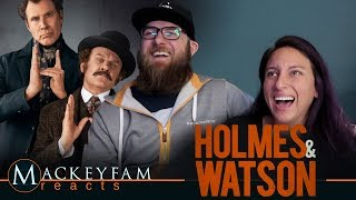 HOLMES AND WATSON - Official Trailer- REACTION and REVIEW!!!