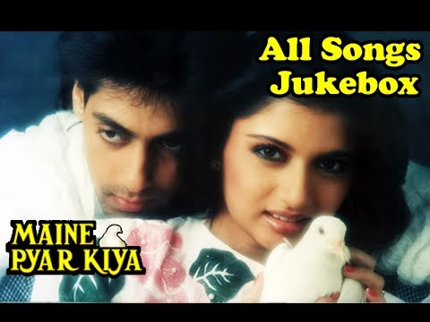 hindi movie songs - Enjoy the songs that sounds fresh even when we hear it today from the 'All Time Superhit Romantic Blockbuster of Bollywood, 'Maine Pyar Kiya' (1989) starring...