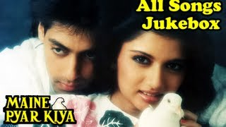 Maine Pyar Kiya - All Songs Jukebox - Bollywood Evergreen Superhit Romantic Movie Songs
