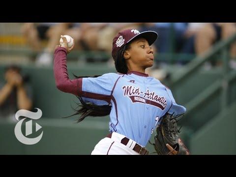 Mo%27ne Davis%3A How the Little League Baseball Sensation Pitches %7C The New York Times