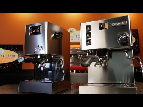 Machine Comparison: Gaggia Classic vs. Rancilio Silvia