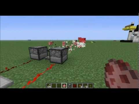 Minecraft- How to Build the Fastest Turret