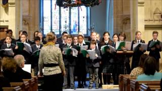 Carol Service 2016 - the Chapel Choir sings 'Ring Out The Bells'.