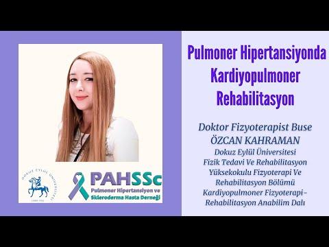 PAHSSc - Pulmoner Hipertansiyonda Kardiyopulmoner Rehabilitasyon - Dr. Fzt. Buse Özcan Kahraman - 2020.12.02