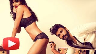 Ranveer Singh Flirts With A Sexy Lingerie Clad Model - Hot Or Not ?