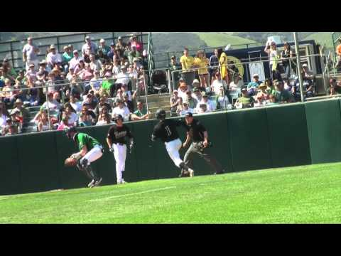 Cal Poly vs. Notre Dame Baseball Highlights -- March 16, 2013