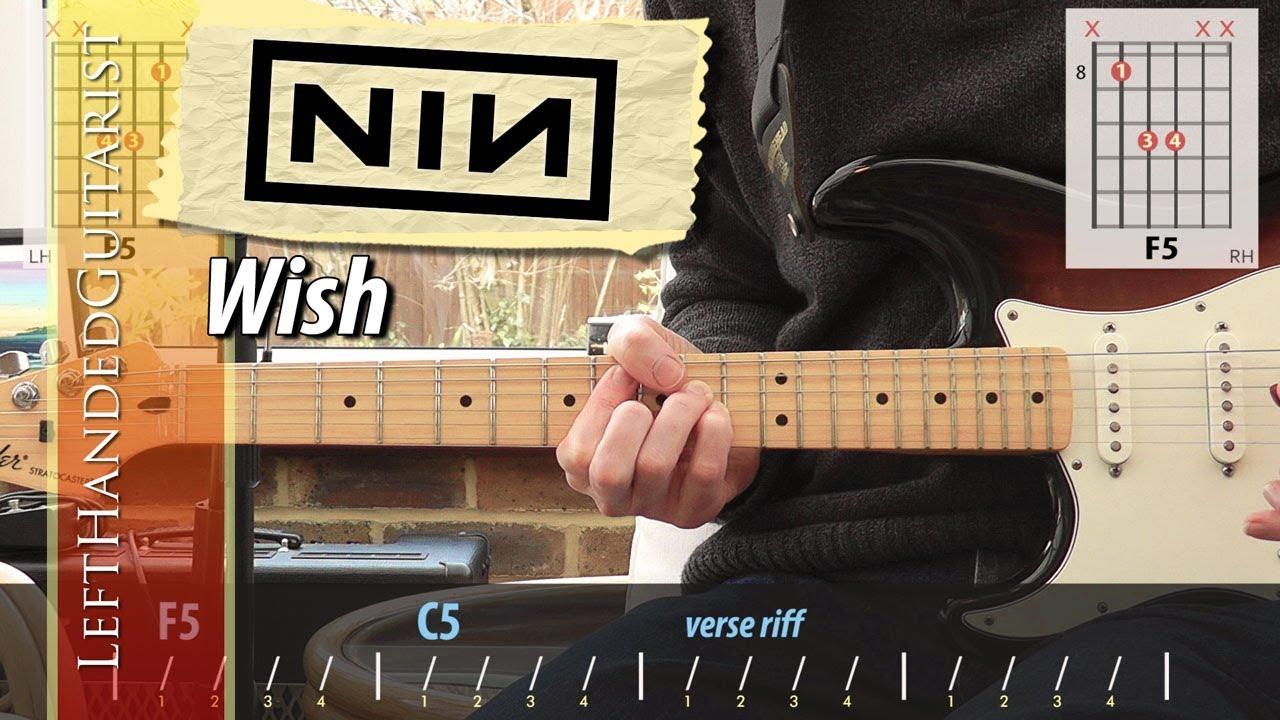 Nine Inch Nails – Wish | guitar lesson