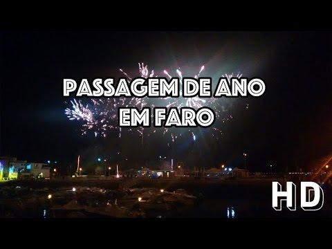 Passagem de ano em Faro, Algarve - Portugal