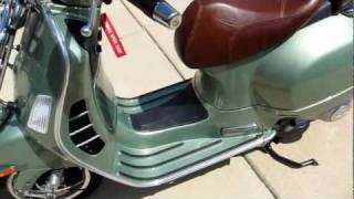 6. USER REVIEW of VESPA GTV 300 *** GTS Differences Outlined In Video Info Below ***