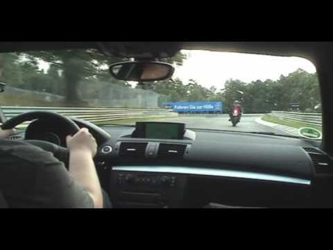 Lap 3 of Nurburgring Nordschleife BMW 120d M Sport (видео)