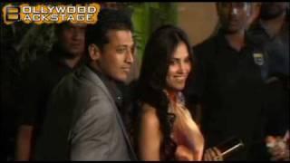 Lara&Boyfriend Mahesh Bhupathi At Filmfare Awards 2010