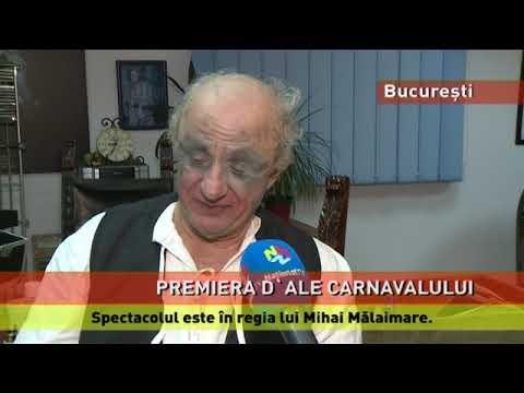 """Premiera spectacolului """"D'ale carnavalului"""", la Teatrul Masca"""