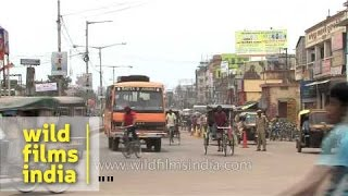 Cuttack India  City pictures : Vehicular traffic in Cuttack city