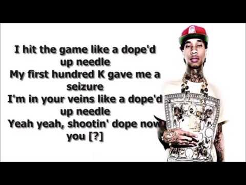 Tyga - Dope'd Up (Lyrics)