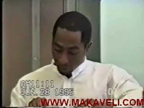 in comparison to Justin Bieber's deposition, checkout how classy and poignant Tupac is during his even with an asshole lawyer attacking him.