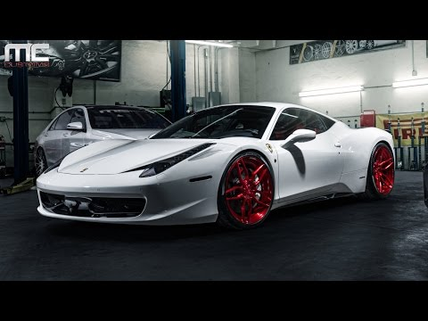 MC Customs | ADV.1 Wheels Ferrari 458 Italia