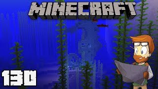Building with fWhip : SEAHORSE CONDUIT STATUE #130 MINECRAFT 1.13 Let's Play Single Player Survival