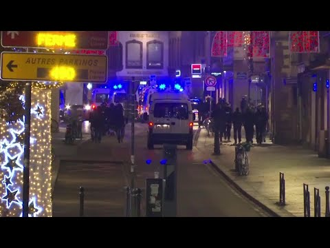 VIDEO NOW: Shooting at French Christmas Market