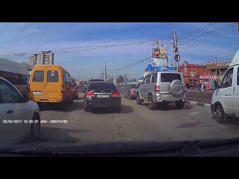Авария в Ульяновске