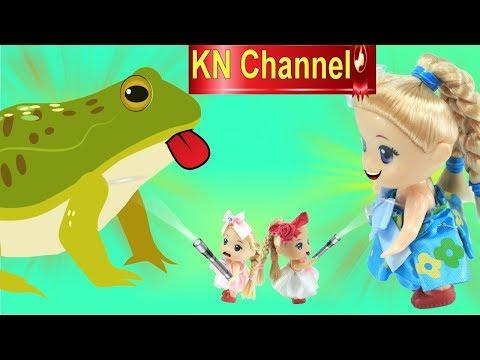 Đồ chơi trẻ em ĐÈN PIN PHÓNG TO THU NHỎ BÚP BÊ KN Channel - Thời lượng: 11:57.