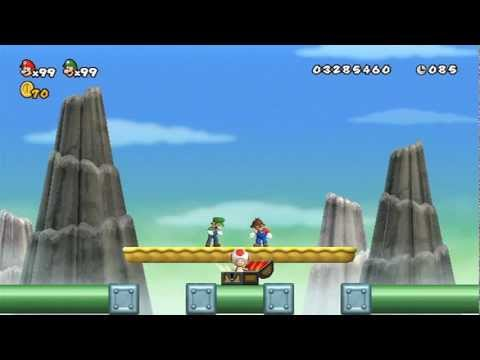 New Super Mario Bros Wii - 100% Walkthrough Co-op ITA - Parte 12 di 19